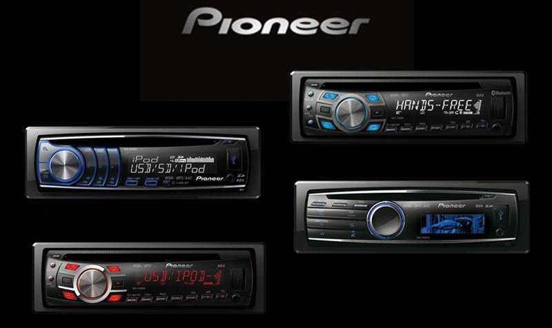 Conheça os novos Cd players 2011/2012 da Pioneer