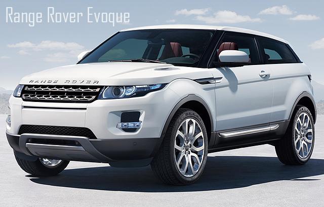 Confirmado o início da produção da Range Rover Evoque