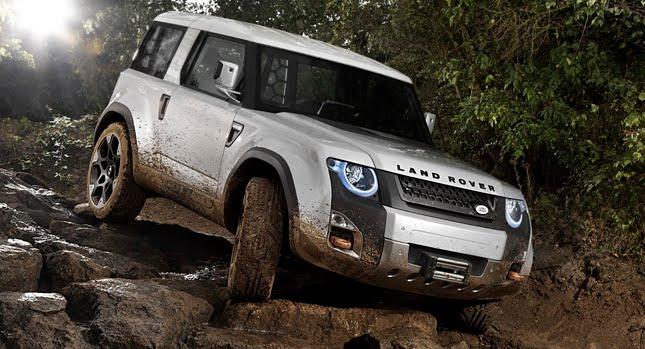 land rover dc100 11 Land Rover revela as primeiras imagens da nova Defender